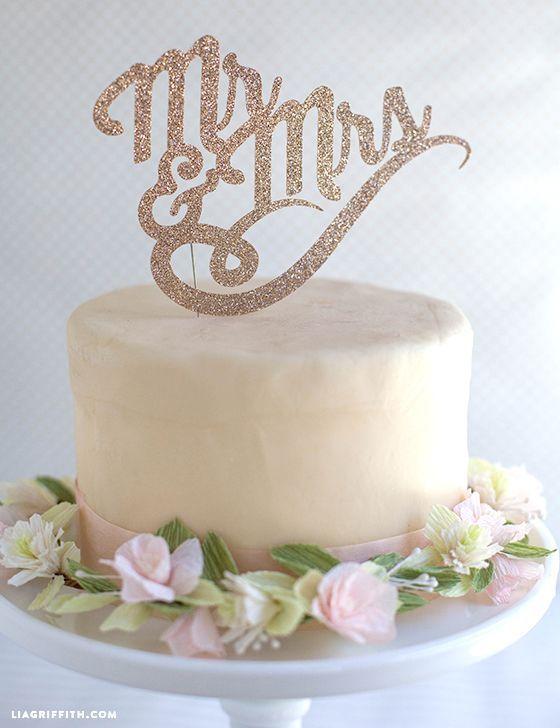 定番デザイン♡英語の筆記体ケーキトッパーは570円からここで買える! Marry マリー