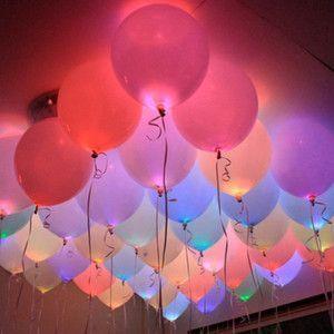 【簡単DIY】光る風船で海外風ウェディングに近づける♡『LEDバルーン』って知ってる?にて紹介している画像