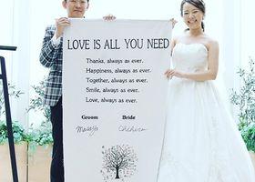夫婦としていつまでもいつまでも愛し合って生きていく誓い。人前式で人気の演出『結婚証明書』のデザインは、おもいっきり自由に、2人らしいものにしちゃいましょ♩