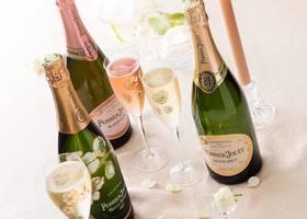 ヴィクトリア女王、ナポレオン三世、グレース・ケリーをはじめとする世界中のセレブリティが愛するシャンパン『ペリエジュエ』*お味はもちろん、ボトルもグラスも可愛すぎるんです♡