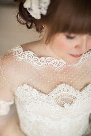 ポップで、楽しげで、とってもcuteなドット柄のドレスとヴェールを使いたい♡にて紹介している画像