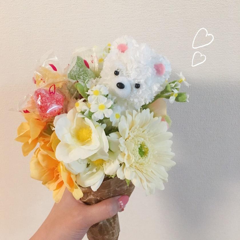 POPで可愛い♡キャンディブーケの作り方・予算・おすすめの材料をご紹介*にて紹介している画像