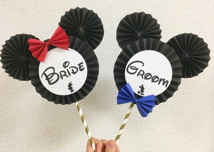 定番だけどやっぱり可愛い♡ディズニーの愛されキャラで作る『Disneyフォトプロップス』のデザイン7選♡のトップ画像