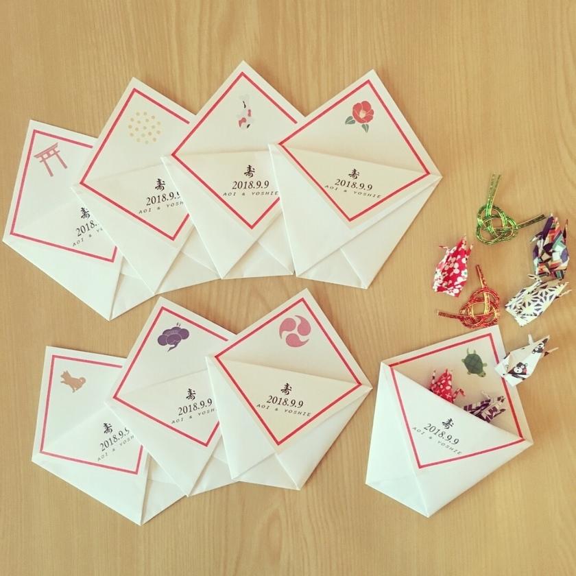 \神前式でも◎/平和&幸せを祈って祝福♡折り紙で作る『折り鶴シャワー』が素敵すぎ**にて紹介している画像
