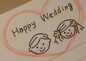 招待状返信アート の結婚式アイデア Marry マリー