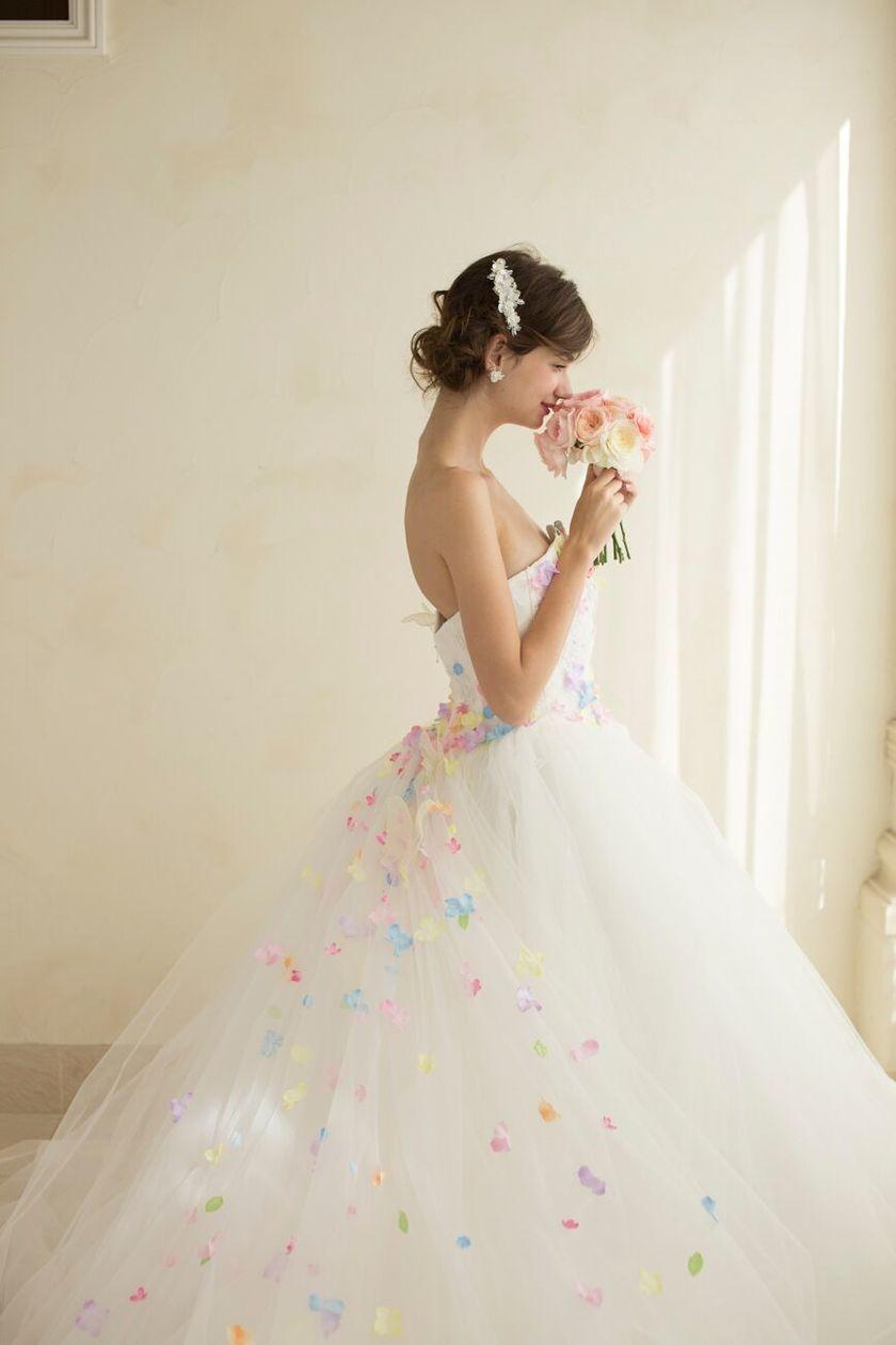 全着一覧はこちらから。【KIYOKO HATA×marry】のコラボドレス全て紹介♡にて紹介している画像