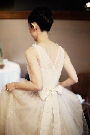 リボンをきゅっとむすんだ可愛いドレスcollection♡にて紹介している画像