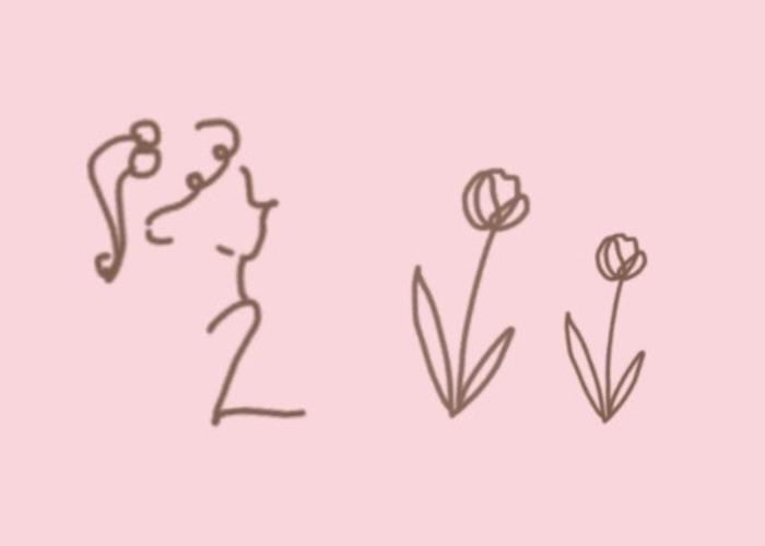 10秒で描ける♩今っぽくて可愛いボールペンイラストの描き方を教えてくれるムービー5選のトップ画像