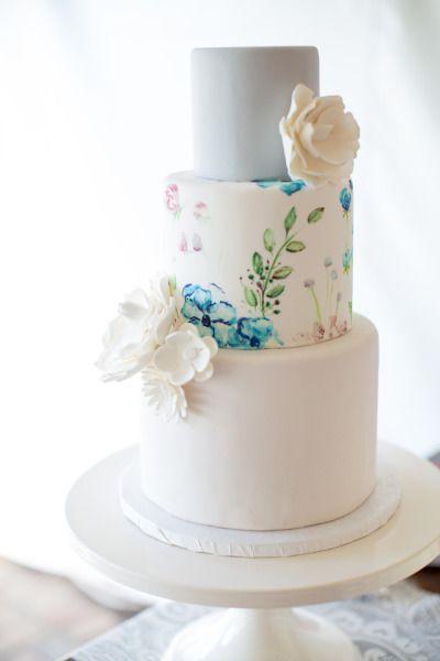 「これと同じにしてください」って言いたい♡水彩風ケーキが衝撃のかわいさ*にて紹介している画像