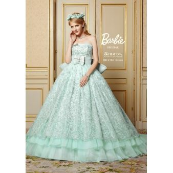 大きなリボンが特徴!バービーブライダルのドレスが可愛い♡にて紹介している画像
