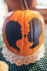 ハロウィーンの季節にぴったり♡ジャック・オ・ランタンでweddingパーティーを飾りつけ♡にて紹介している画像