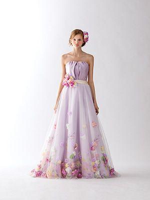 ディズニープリンセスに憧れて♡プリンセス別ウェディングドレスまとめ*にて紹介し