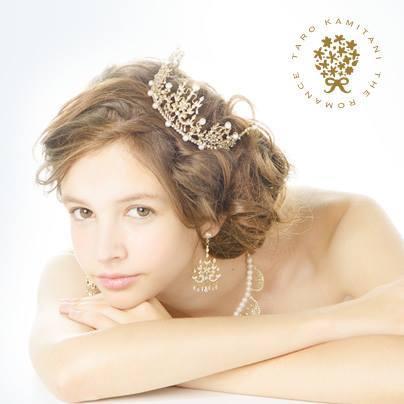 一生、ロマンチック宣言♡『TAROKAMITANI』のティアラが夢可愛い*にて紹介している画像
