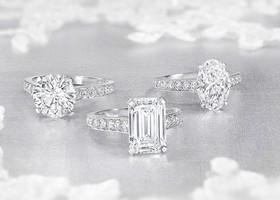 """大粒のダイヤといえば『GRAFF(グラフ)』!イギリス発のジュエリーブランド『GRAFF』の最新指輪コレクションが、ダイヤモンドリング史上最高の輝きと言われています*あなたも""""本物のダイヤモンド""""を味わってみませんか?"""