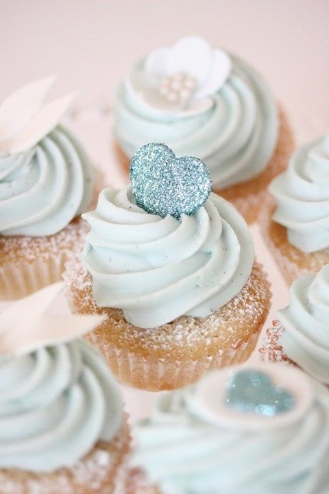Cupcake Decorating Ideas Blue : ????????????????????????? marry[???]