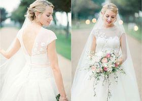 これぞ本物のドレスとの呼び名も高い、『Peter Langner (ピーター・ラングナー)』のウェディングドレス。花嫁さんのひとりひとりの体型に合わせてオートクチュールで作るドレスは、見る人全てを魅了します♡