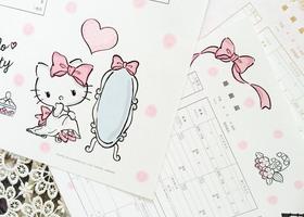 キティちゃんとマイメロちゃんに、キキララちゃん*サンリオの人気の3キャラクターとコラボしたデザイン婚姻届が登場!この可愛さを、ご確認ください♡