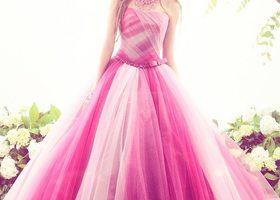 「希望、夢、愛」に満ちたウェディングを、最高に特別な1日にしてくれるドレスブランド『KIYOKO HATA(キヨコ ハタ)』。ウェディングドレスもカラードレスも、可愛すぎるんです♡