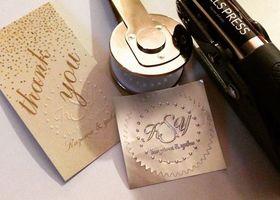 立体的な刻印がぽんぽん作れる、押しスタンプ♡最高におしゃれで便利な文房具『エンボッサー』って知ってますか?