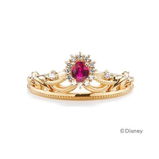 愛と夢であふれる♡『4℃ BRIDAL』のディズニーコラボコレクションの指輪にきゅん♡にて紹介している画像