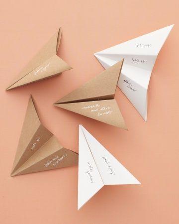 簡単 折り紙 折り紙 席札 : marry-xoxo.com