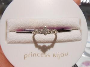 ディズニープリンセスモチーフ♡『プリンセスビジュー』のお姫様リングが可愛すぎ*にて紹介している画像