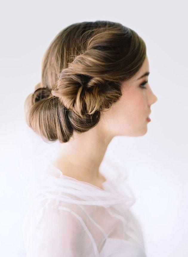 面長を可愛くみせる♡顔の形が〔面長〕のプレ花嫁さんにおすすめブライダルヘアアレンジのコツまとめ*にて紹介している画像