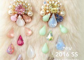 『nico accessory(ニコアクセサリー)』はオーダーメイドも出来るから、絶対にお気に入りが見つかる♡インスタで人気のハンドメイドアクセ屋さん『nico accessory(ニコアクセサリー)』のお花モチーフアイテムに一目惚れ*