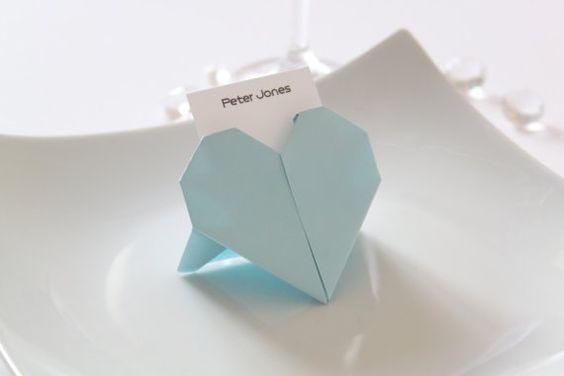 ハート 折り紙 折り紙 テーブル : marry-xoxo.com